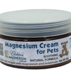 Magnesium Cream for Pets 50g Jar