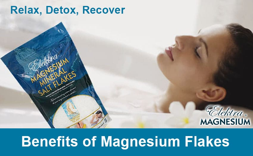 Magnesium bath relieves stress